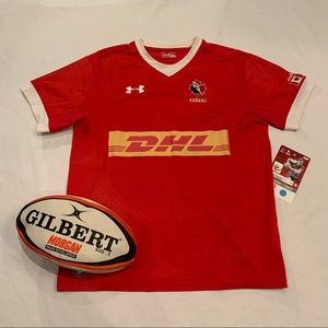 Rugby Canada jersey under armour